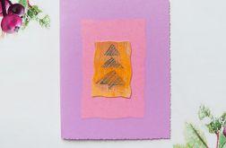 Kartka świąteczna minimalizm 78