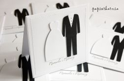 Elegancja - zaproszenia ślubne
