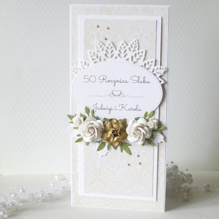 Złote Gody - 50 rocznica ślubu v.6 - dl-50c