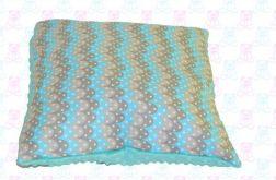 Poszewka na poduszkę MINKY + bawełna