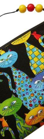 Szczęśliwe kociaki! -piórnik/kosmetyczka