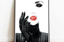 Plakat Nowoczesny Kobieta 02