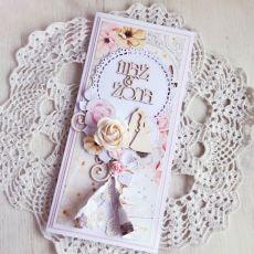 Kartka ślubna DL Marry Me z napisem GOTOWA