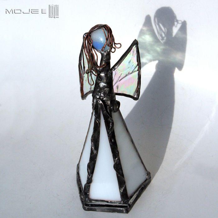 Anioł Hyla - anioł ze szkła