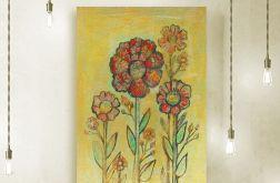 Kwiaty 20- rysunek dekoracyjny