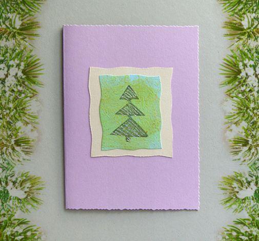 Kartka  świąteczna minimalizm 5