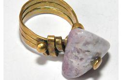 15 pierścionek vintage pierścionek z opalem