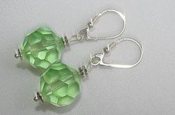 zielone kule kryształu