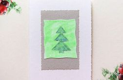 Kartka  świąteczna minimalizm 73