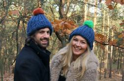 Indygo- czapka dla niej, dla niego