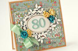 Kartka urodzinowa - zamówienie dla Pani Oli