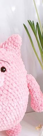 Pluszowa świnka Chudzinka