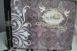 Album ślubny w pudełku