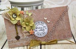 Kopertówka ślubna- oliwkowy sad