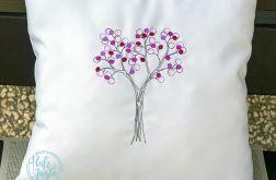 Dekoracyjna poduszka, Drzewo Miłości