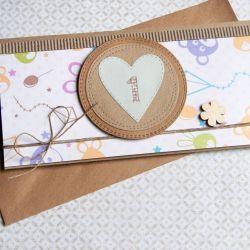 kartka - kopertówka na ROCZEK :: urodzinowa