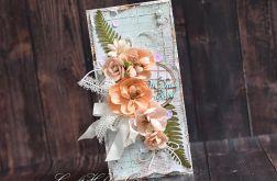 Ślubny bukiet łososiowy