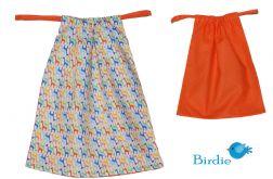 Woreczek na obuwie, ubranie - Żyrafy by Birdie