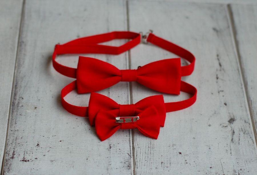 Komplet czerwony - Mama, tata i syn - zestaw dla mamy, taty i syna