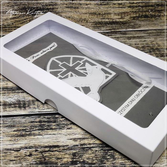 Kartka w pudełku -Obłóczyny