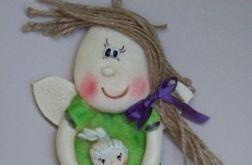 Anioł, Aniołek z lalą