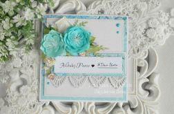 Ślubna kartka w pudełku 38