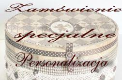 Zamówienie indywidualne - p.Paulina