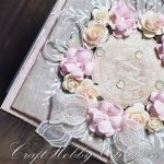 Ślubny wieniec róż -