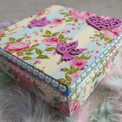 Pudełko ozdobne Flowers
