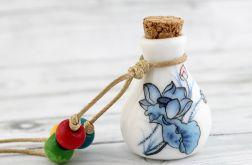 Cermiczna buteleczka - wisior