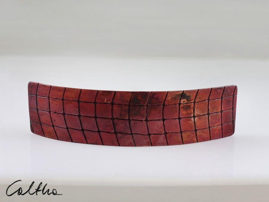 Kratka - miedziana  klamra 180212-01