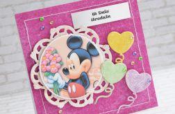 Kartka dla dziecka z balonikami