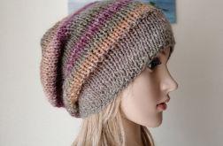 Zimowe pastele czapka
