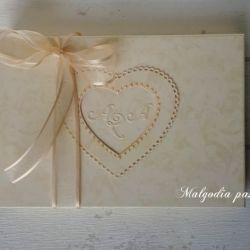Pudełko na kartkę torebkę