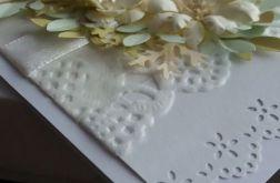 Pastelowy komplet ślubny