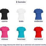 Koszulka z nadrukiem ciążowym,dla kobiety w ciąży,dla mamy
