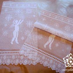 Anioł  tańczący w śniegu
