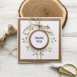 Zaproszenie na ślub- z wiankiem 01