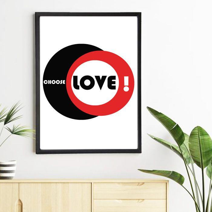 Plakat Choose Love