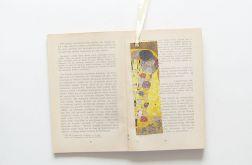 Zakładka do książki Klimt - Pocałunek nr2