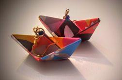 Łódki kolorowe