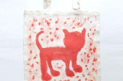 torba bawełniana z kotem nr 8 eko torba