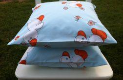 Poszewka dla dzieci na poduszkę 40x40cm