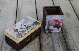Ozdobne pudełko, Paryż, gratis