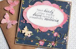 kartka ślubna :: GRANAT & KORALOWy