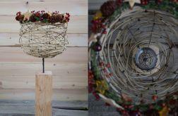 Kompozycja florystyczna -lampion