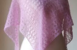 Różany bukiet z jedwabiem