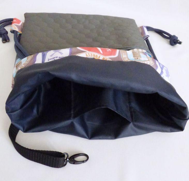 Worek /plecak Workoplecak Vlepki - plecak vlepki wewnątrz