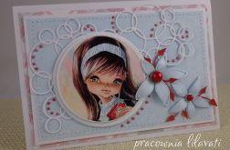 kartka dla dziewczynki #1