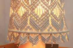 Lampa stołowa #hellosister abażur makrama